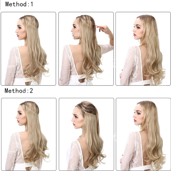 Halo Accessories Ash Blonde 20 Inch 1 Pc Hair Extensions Poshmark